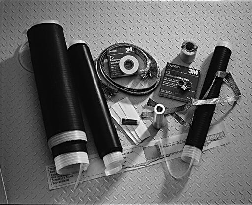 3M™ Cold Shrink Splice Kit QS2012T, CN, JCN, PILC, 15 kV, 3/0 AWG-350 kcmil PILC, 4/0 AWG-500 kcmil Poly/EPR, 1/case