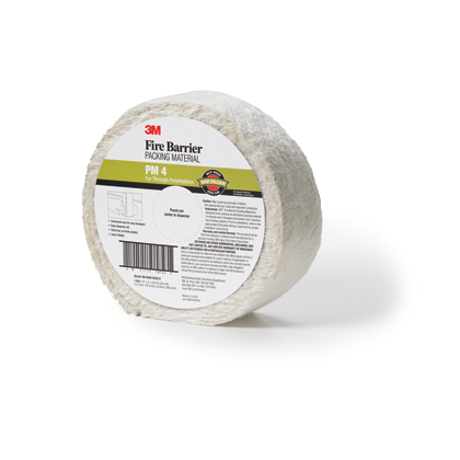 3M™ Fire Barrier Packing Material PM4, 4 in x 20.5 ft, 5 rolls/case