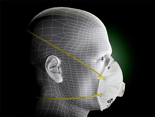 3M™ Particulate Respirator 8210V, N95 80 EA/Case