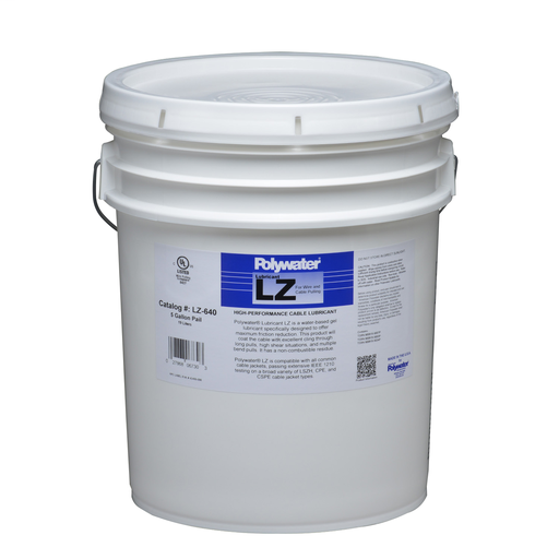 5-Gal Polywater® Lubricant LZ