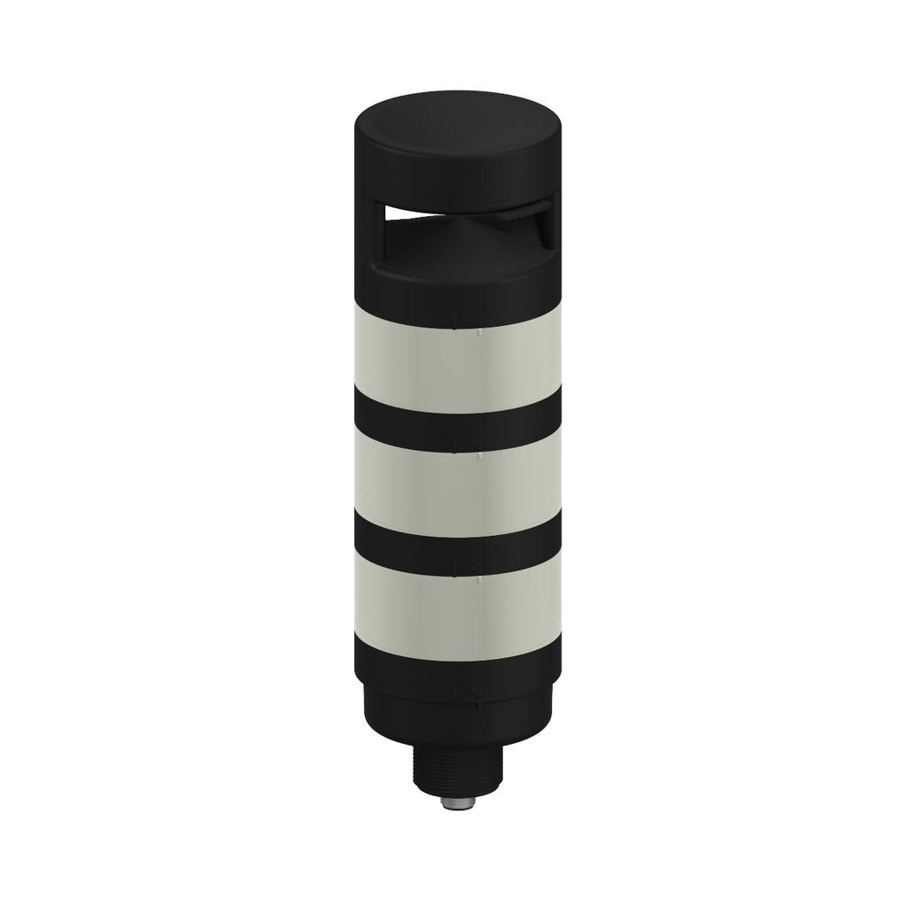 TL70 Tower Light; Black Housing: 3-Color