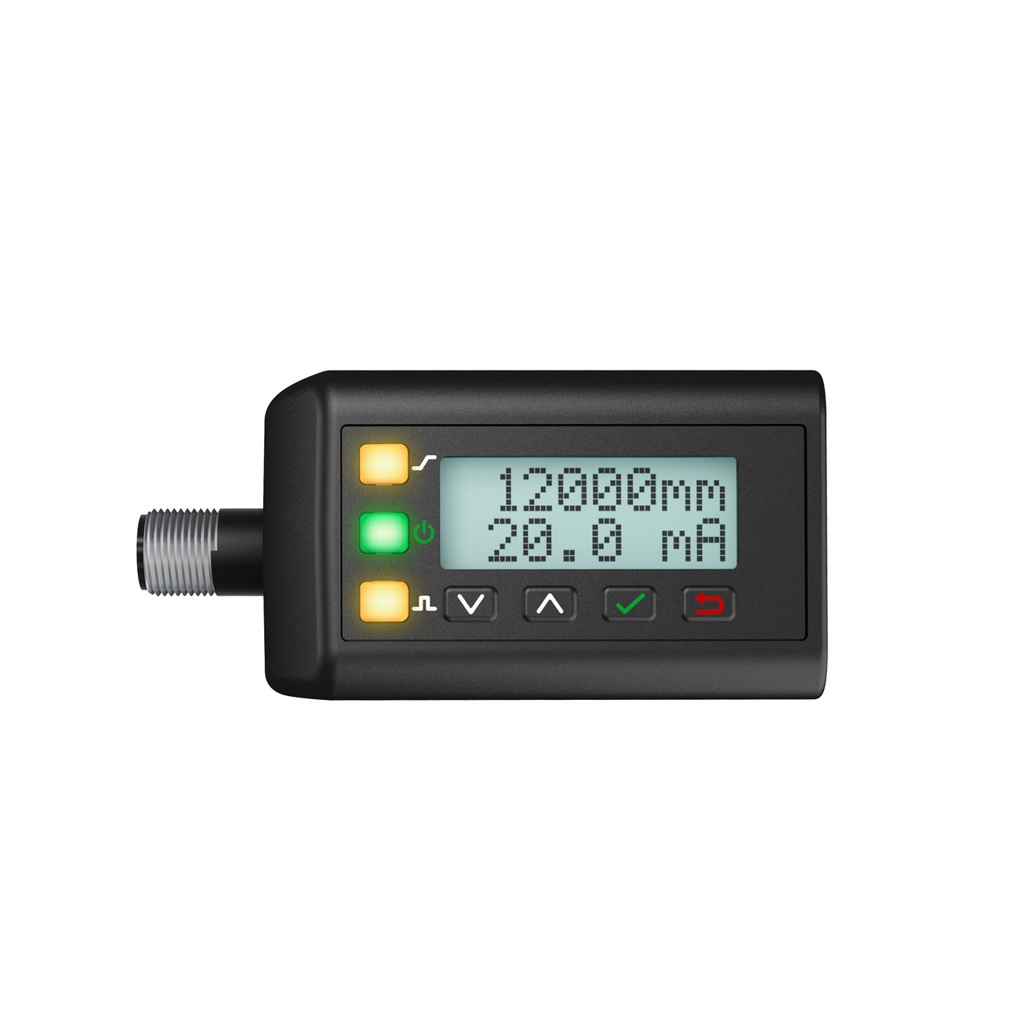 Laser Diffuse Time-of-Flight Sensor; Ran