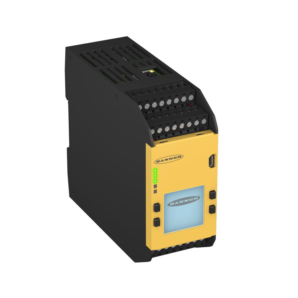 XS26-2DE Safety Controller: Expandable;