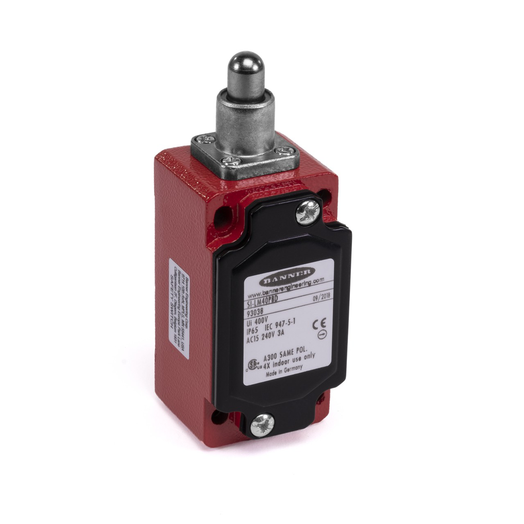SI-LM40 Safety Limit Switch, Metal Actua