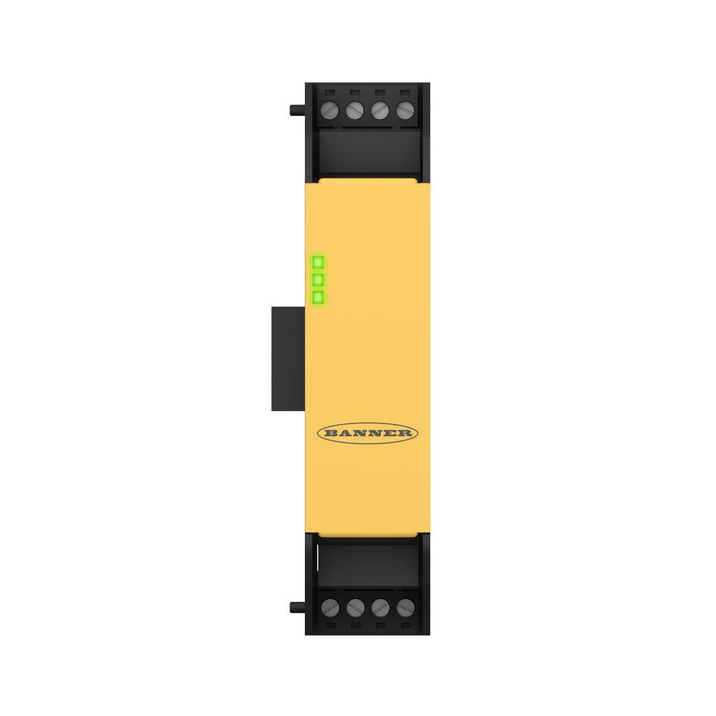 8-pin Safety Input Module (2 convertible