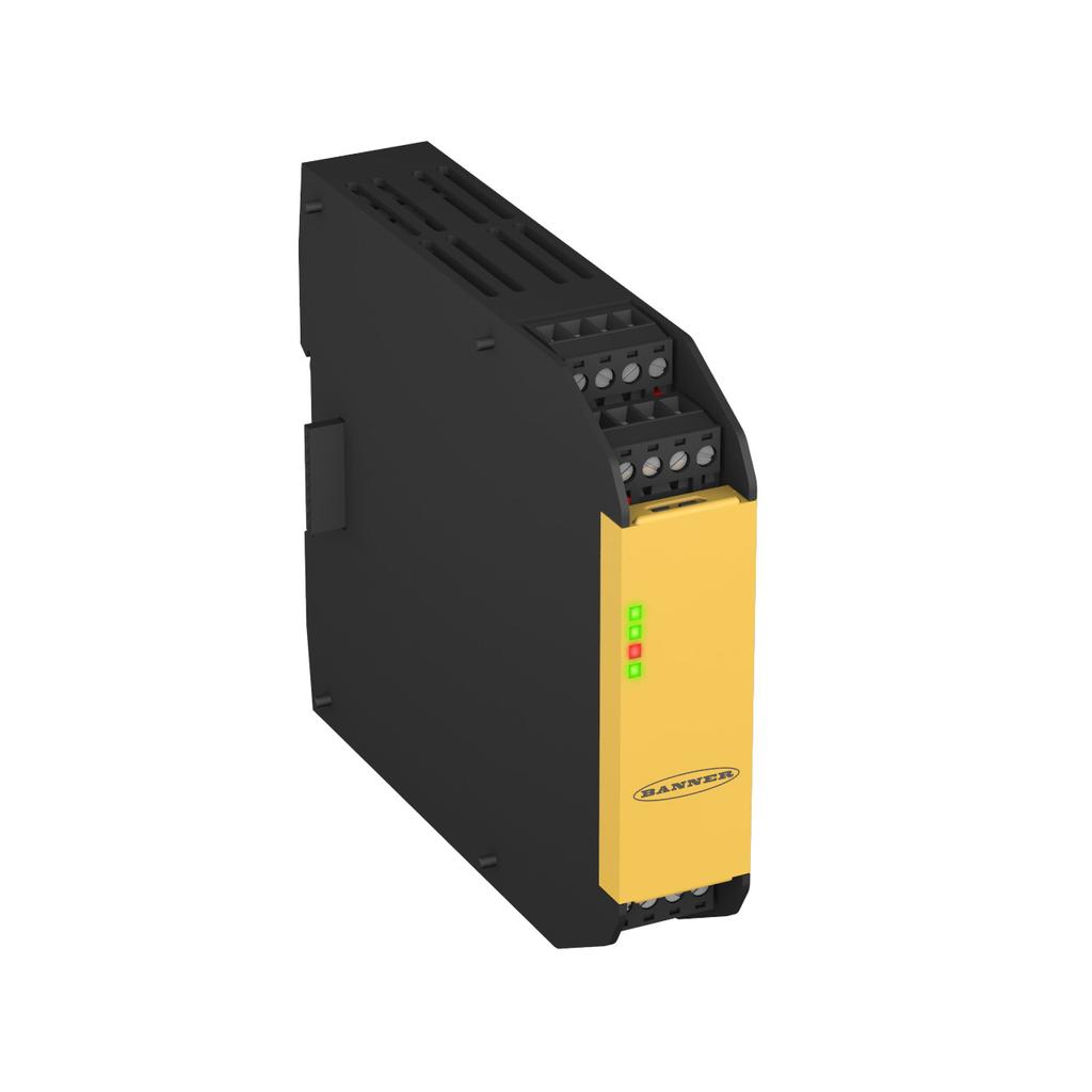 Safety Relay Output Module (4 NO / 2 NC)