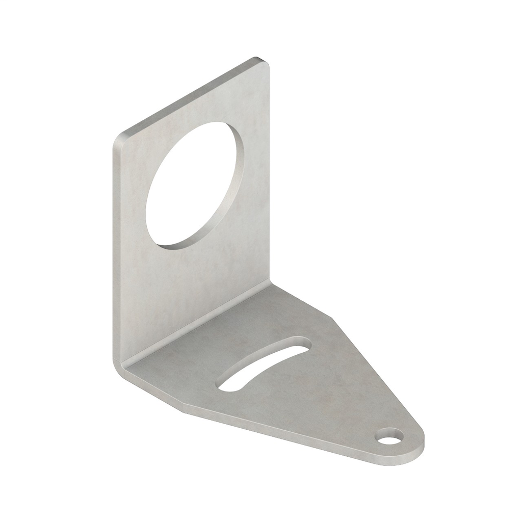 Bracket: Right Angle Mounting; Material:
