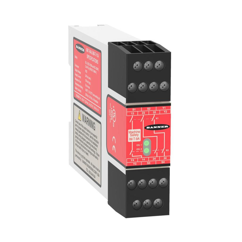Relay Module for Safety Light Curtain/Co