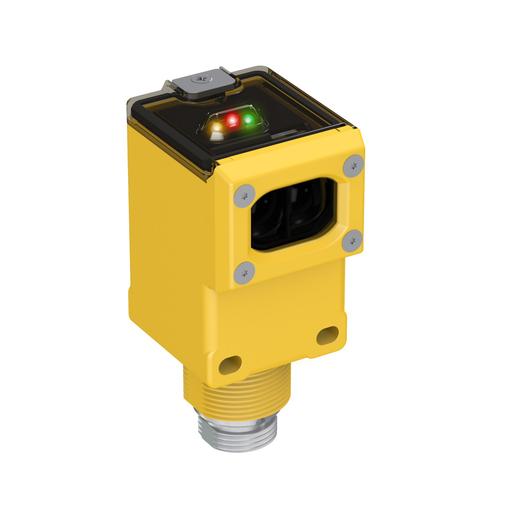 Mayer-Q45 Series: Polarized Retro, Range: 0.15 -6 m, Input: 90-250 V ac, Output: SPDT Electromechanical Relay, Mini 5-pin Integral QD-1