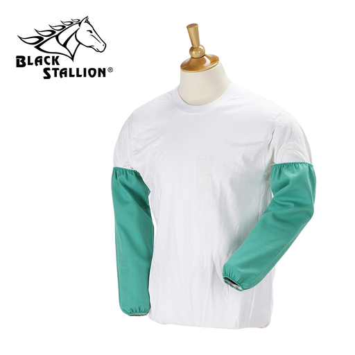 """9 OZ FLAME RESISTANT COTTON 18 INCH SLEEVES -- ELASTIC STRIP, 18"""""""