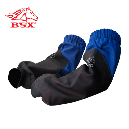 BSX ROYAL BLUE WITH BLACK XTENDERS REINFORCED FR SLEEVES, N/A