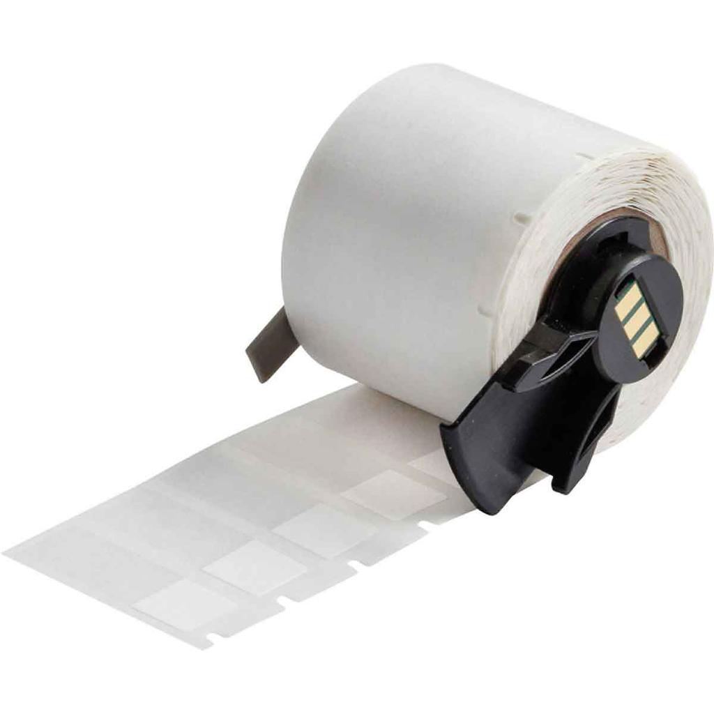 Brady PTL-29-427 500/Pack 0.5 x 1.5 Inch Self Laminating Vinyl White Matte Label Roll