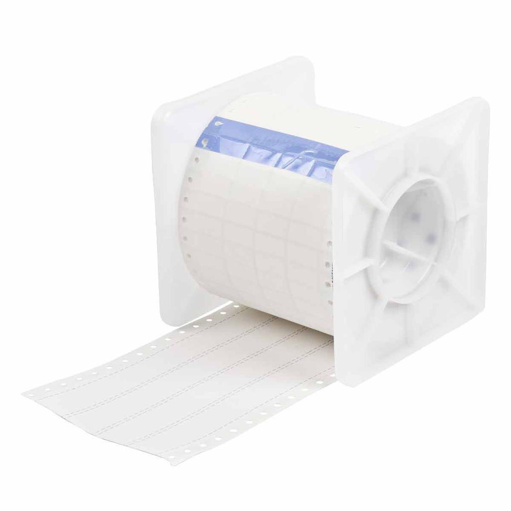 Brady HCPS-0.9-5008-WT 0.5 x 0.9 Inch (12.7 x 22.86 mm) Heat Shrink Sleeve