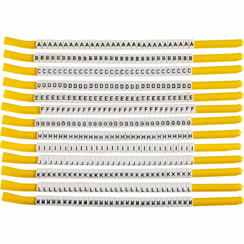 BRADY SCN18-A-M Wire Mkr,ClipSleeve