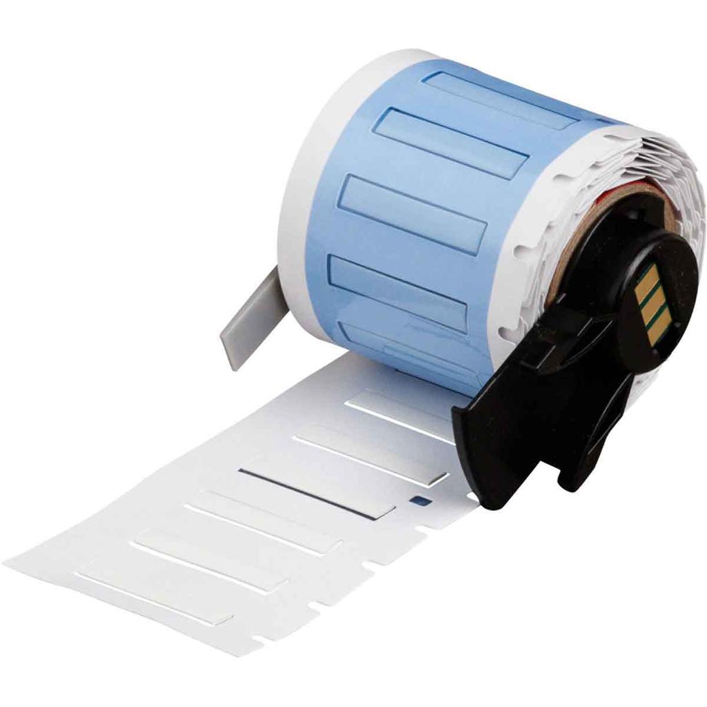 Brady PSPT-094-1-WT 1.015 Inch x 0.08 mm 28 to 20 AWG White Polyolefin Wire Marking Sleeve