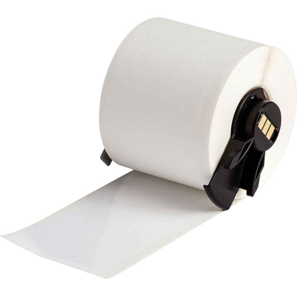 Brady PTL-43-483 1.9 Inch x 50 Foot Pet White Gloss Label Roll