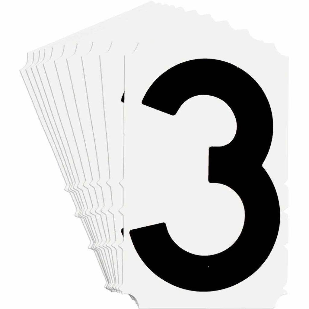BRADY 5140-3 Label,Quik-Align Gothi