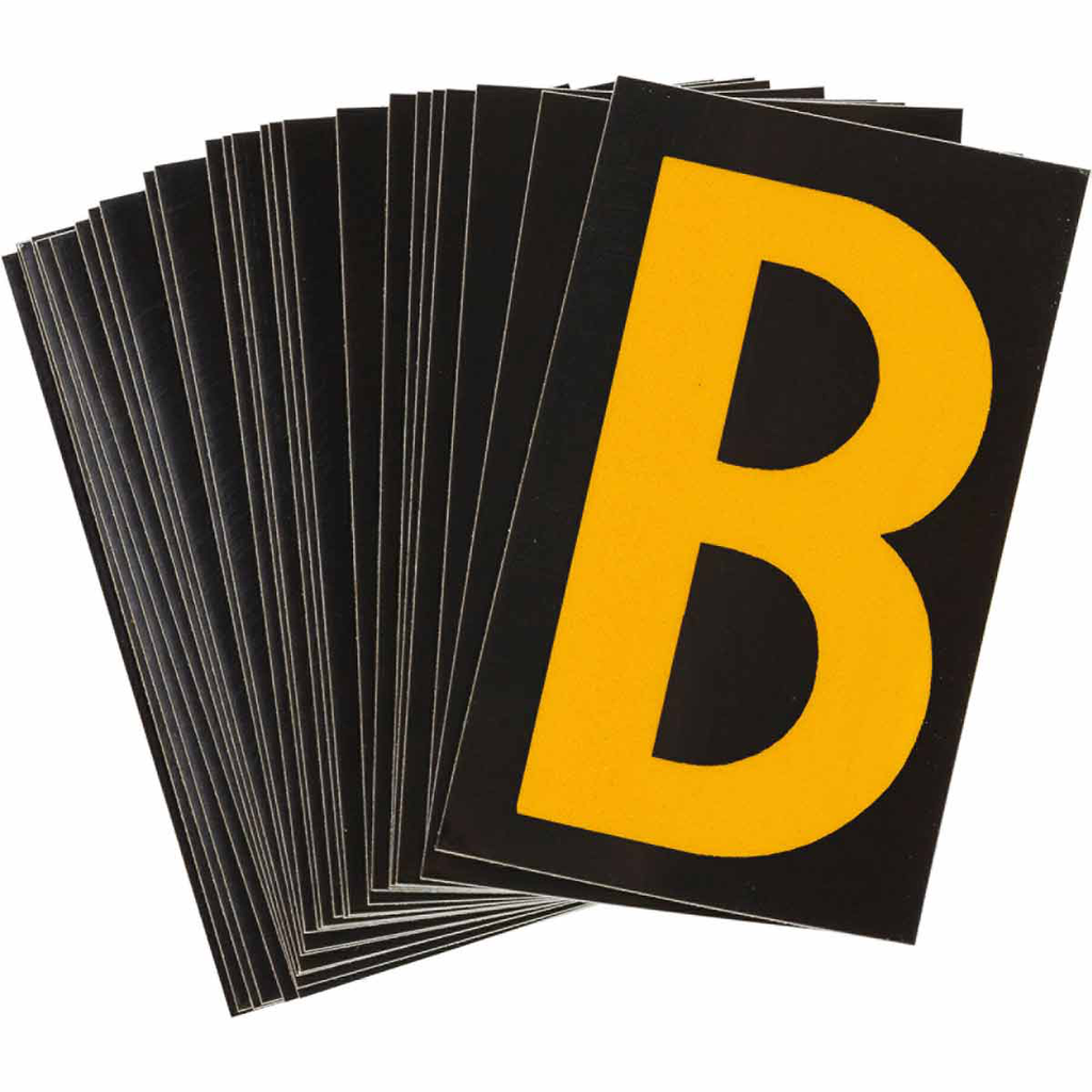 Brady 5000-B Lite Reflective Numbers and Letters
