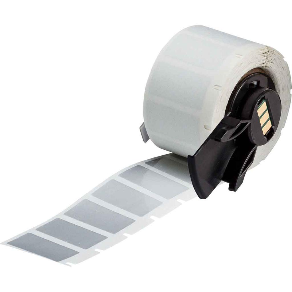 Brady PTL-17-435 1 x .500 Inch Metalic Pet Label Roll