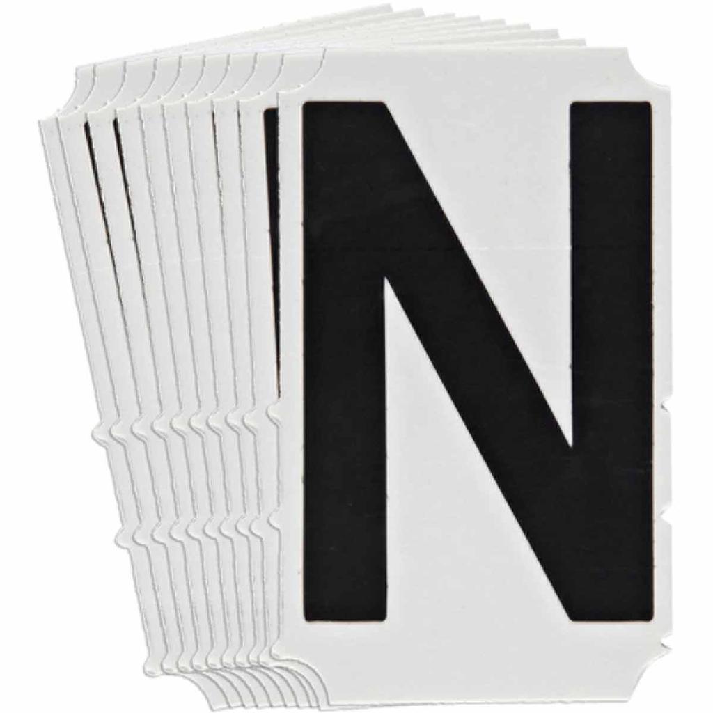 BRADY 5100-N Label,Quik-Align Gothi