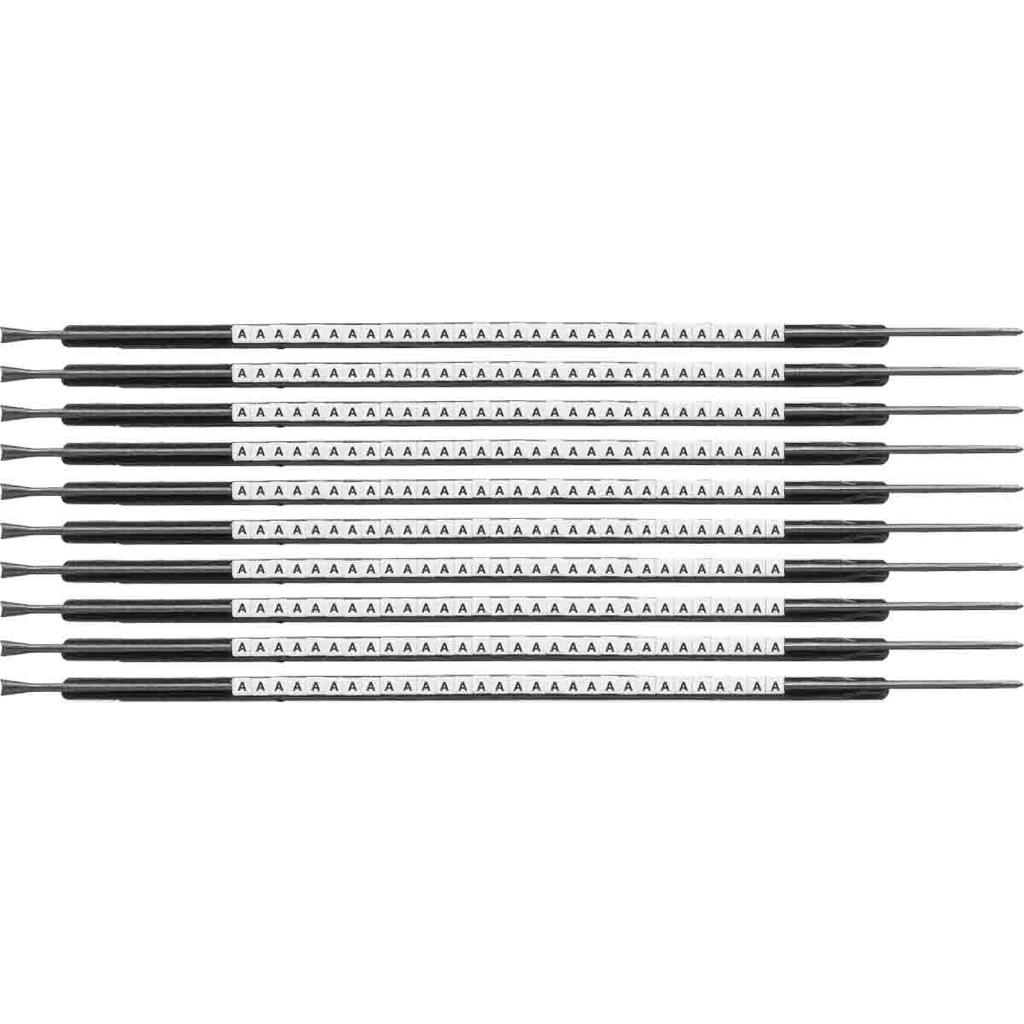 BRADY SCN05-A Wire Mkr,ClipSlv,A,SC