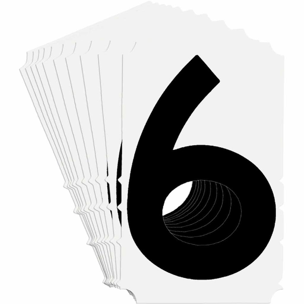 BRADY 5180-6 Label,Quik-Align Gothi