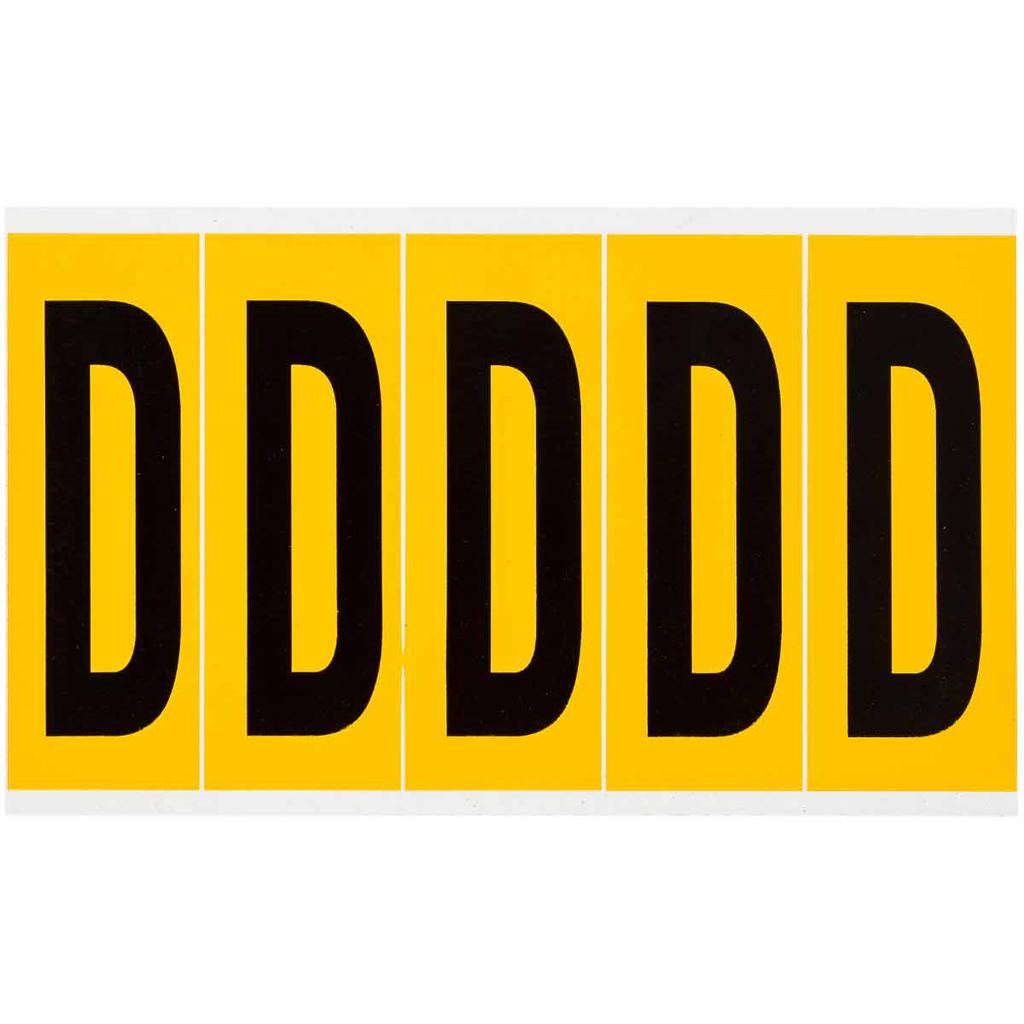 "BRADY 1560-D Label,15 Series,3.875"""
