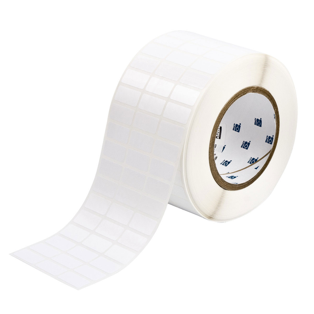 """Mayer-Glossy Polyester Labels, 0.5"""" H x 1"""" W, Roll of 10000 Labels-1"""