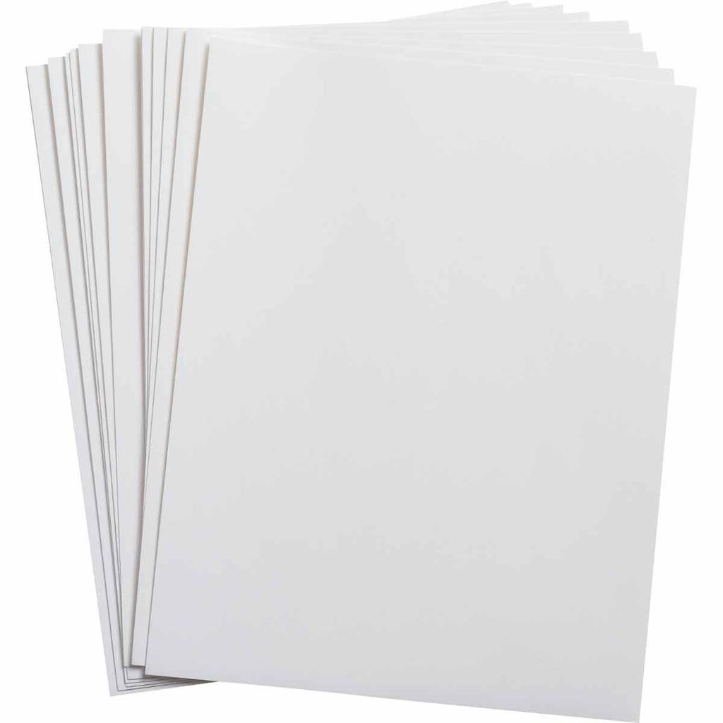 Brady LAT-28-747-25-SH 8.5 x 11.0 Inch Metalized Silver Laser Printer Pet Label Sheet