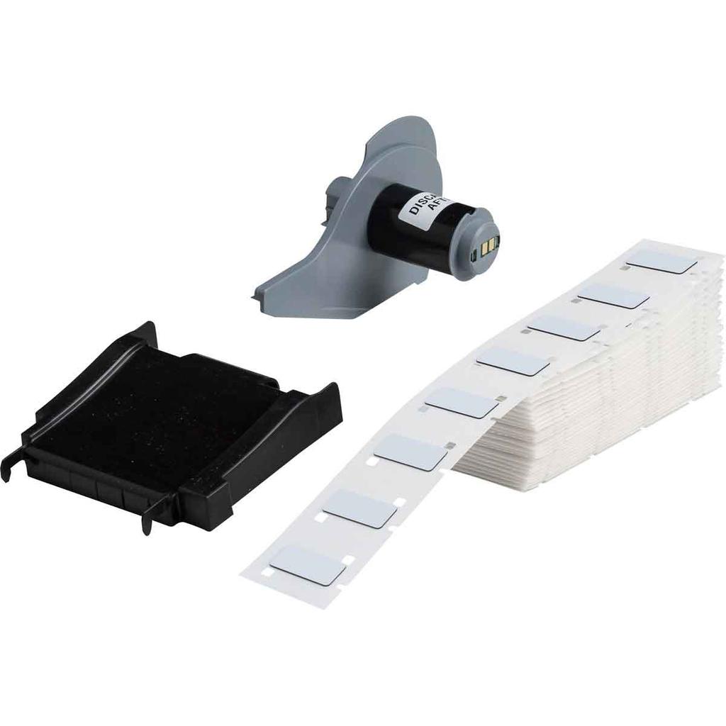 Brady M71EP-171-593 1 x 0.49 Inch White Polyester Raised Panel Label