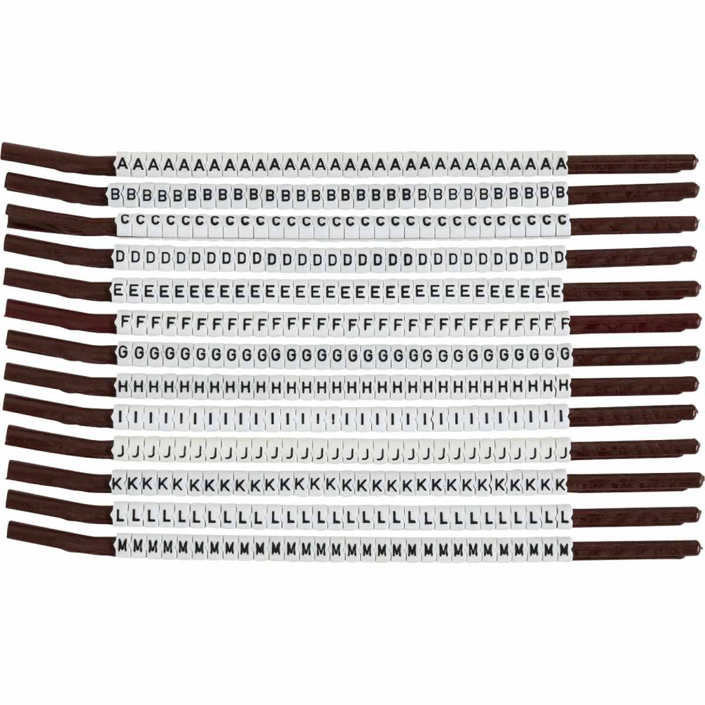 BRADY SCN15-A-M Wire Mkr,ClipSleeve