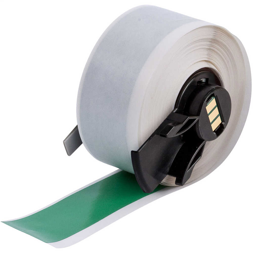 Brady PTL-42-439-GR 1 Inch x 50 Foot Green Vinyl Portable Printer Label