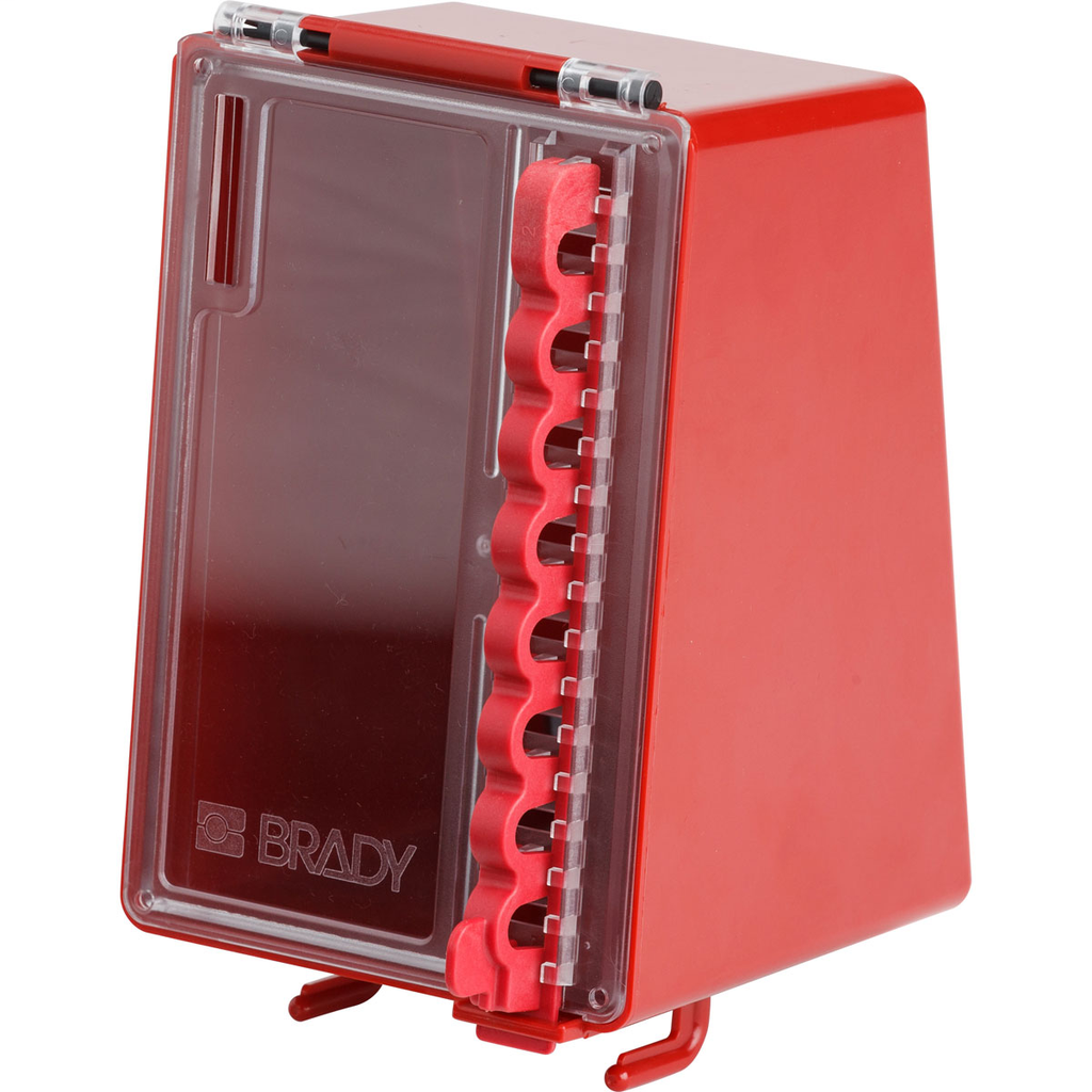 BRADY 50938 WALL MOUNTED PLASTIC LO