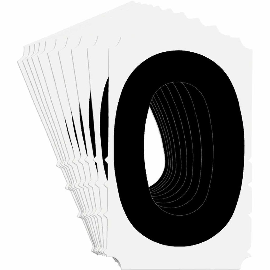 BRADY 5140-0 Label,Quik-Align Gothi