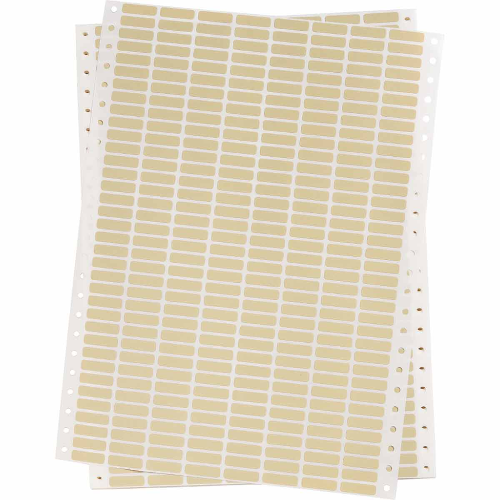 BRADY DAT-50-652-10 Label,Dot Mtx,B