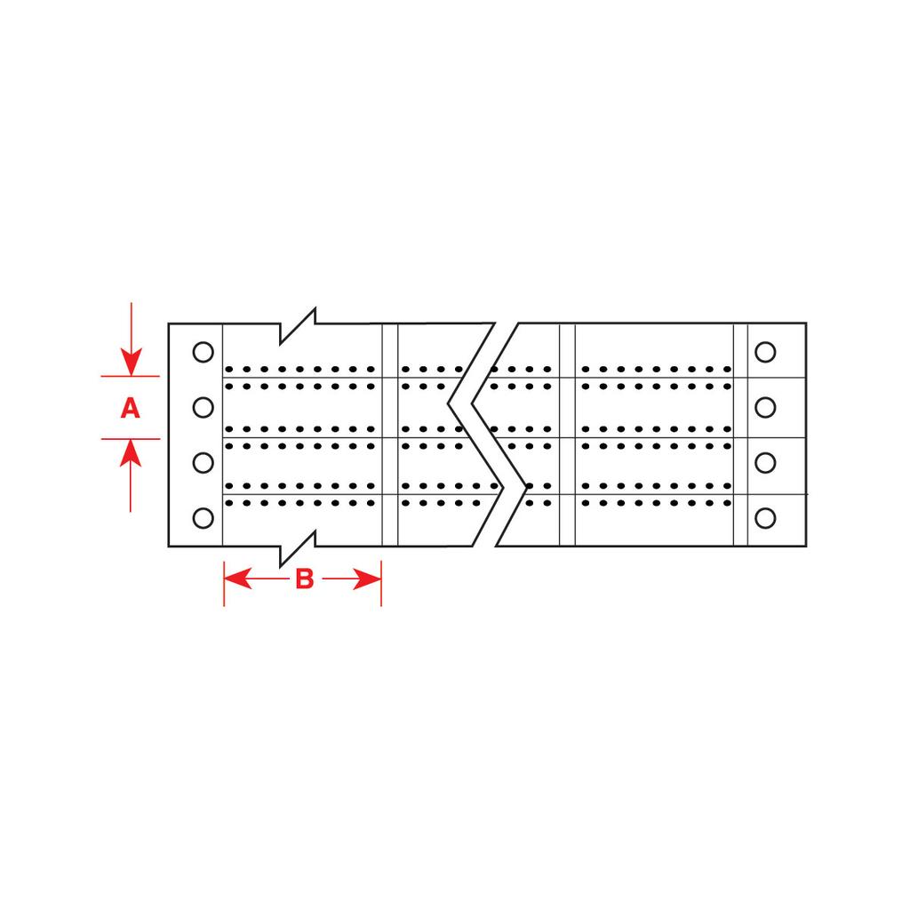 Brady HSCPS-0.9-2508-WT 0.25 x 0.9 Inch (6.35 mm x 22.86 mm) Heat Shrink Sleeve
