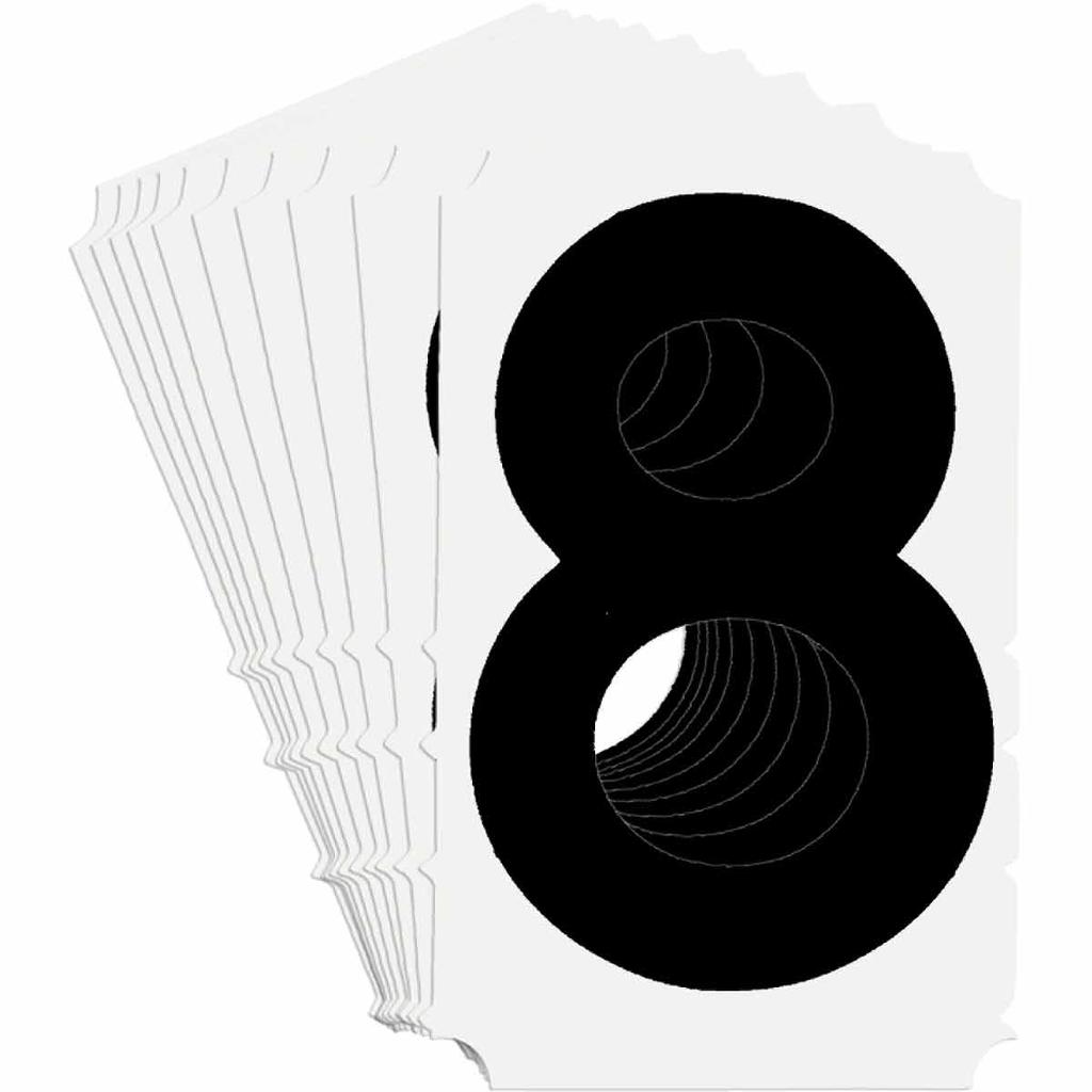 BRADY 5180-8 Label,Quik-Align Gothi