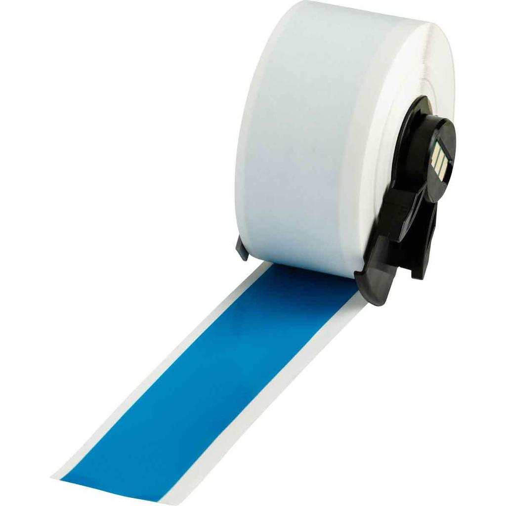 Brady PTL-42-439-BL 50 Foot Roll 1 x 50 Foot 25.40 mm x 15.24 m Vinyl Label Roll