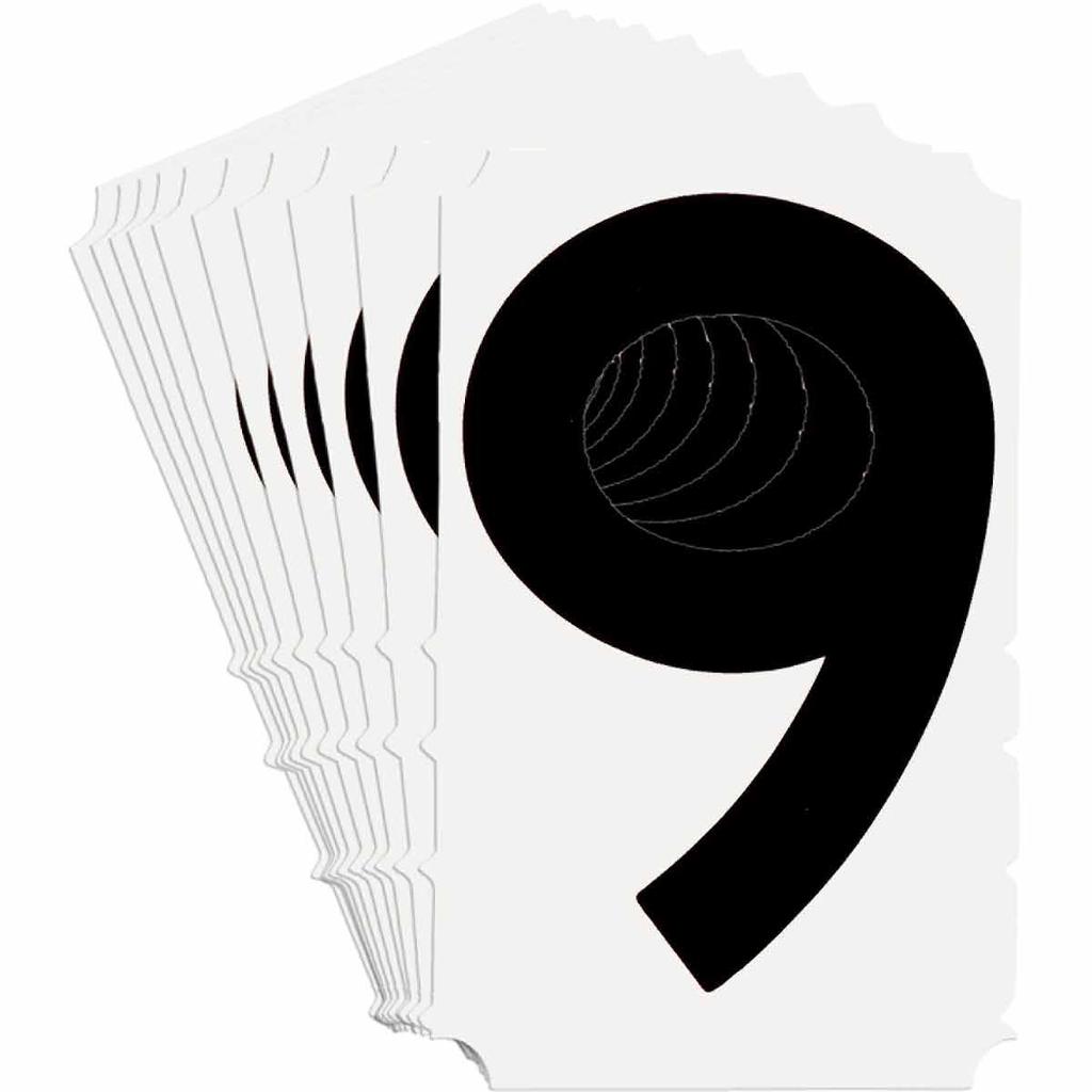BRADY 5180-9 Label,Quik-Align Gothi