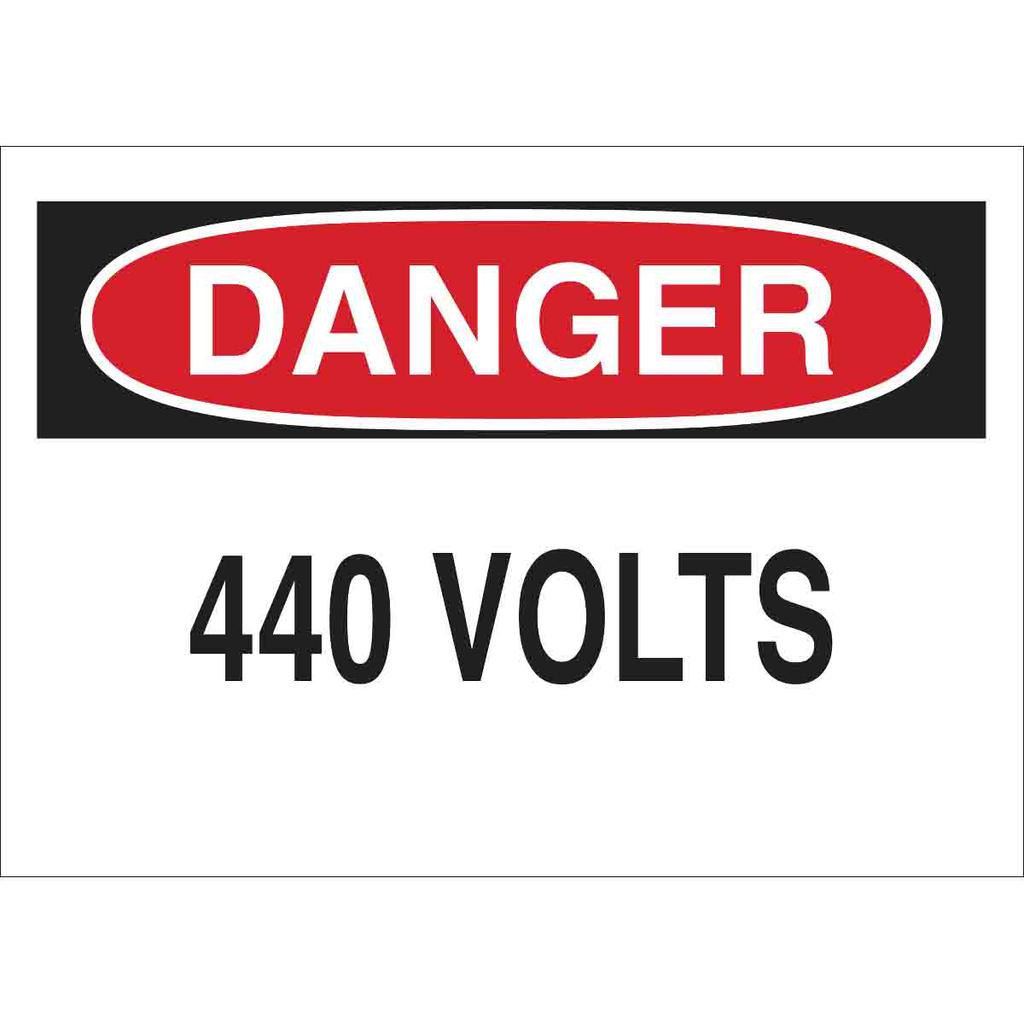 Brady 25567 Electrical Hazard Sign