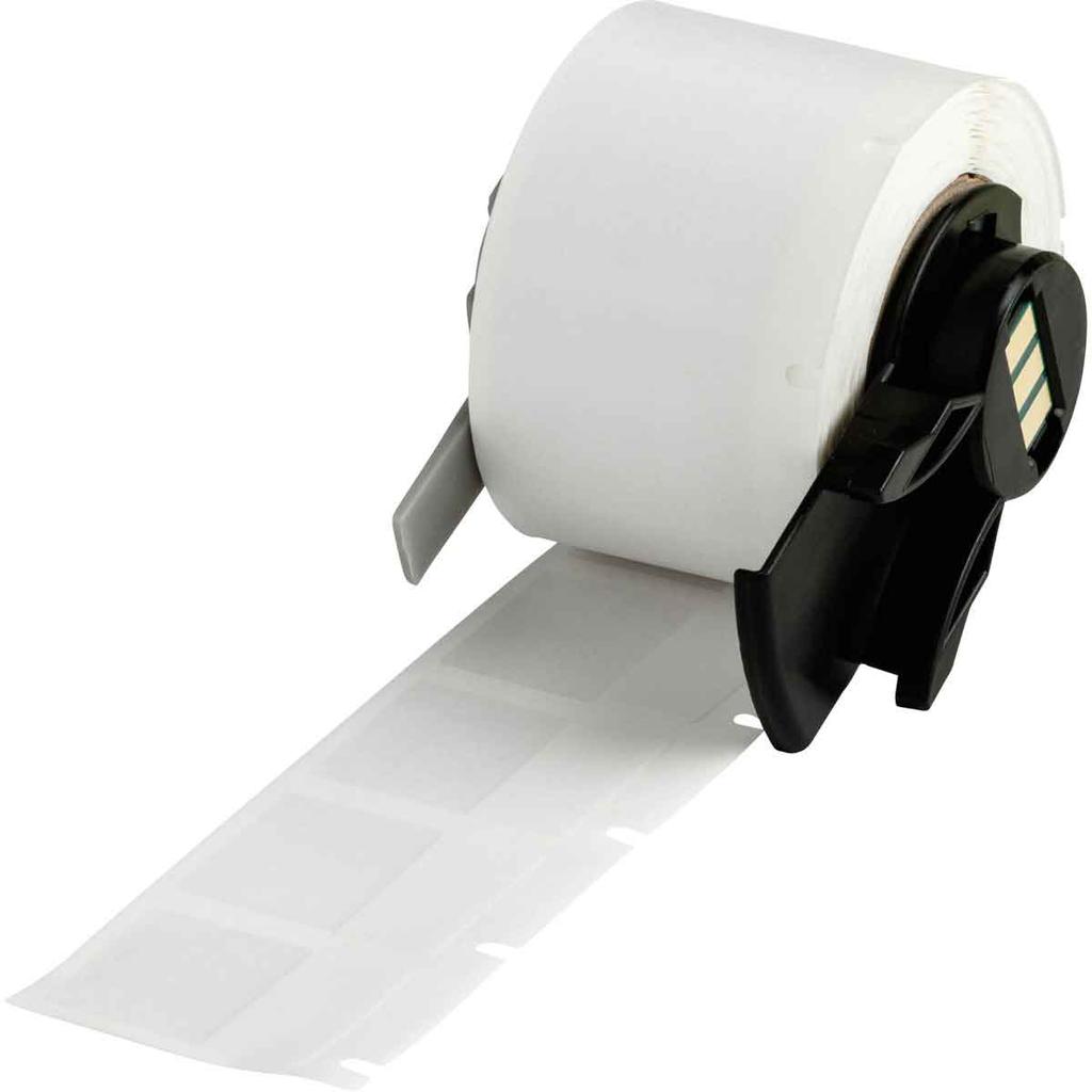 Brady PTL-18-427 250/Pack 0.75 x 1.0 Inch Self Laminating Vinyl White Matte Label Roll