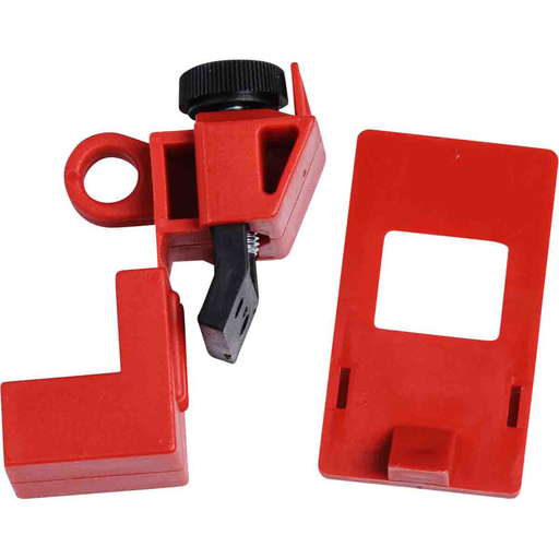 Mayer-120/277V Clamp-On w/Cleat Breaker Lockout Device-1