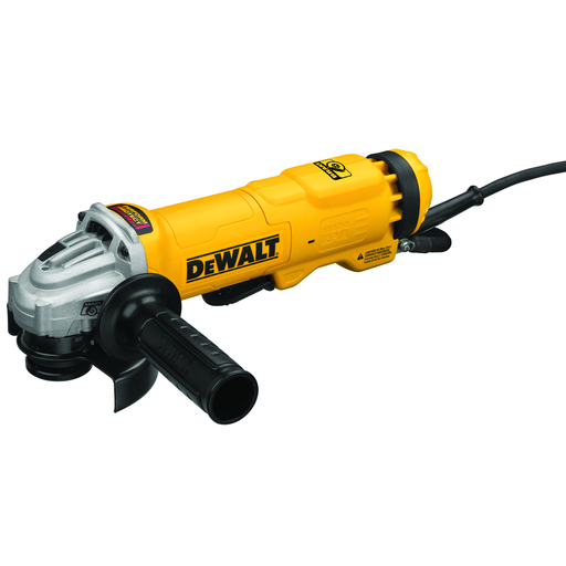 4.5 In. Small Angle Paddle Switch Grinder with Brake and No-Lock On