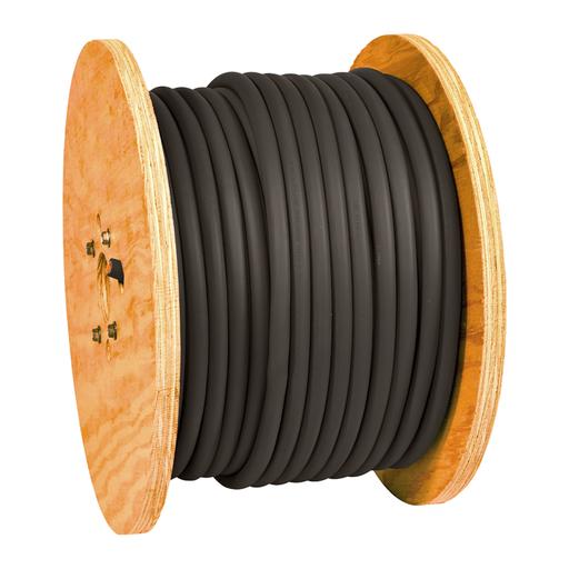 Direct Wire™ Flex-A-Prene® #1 Black 500' Reel
