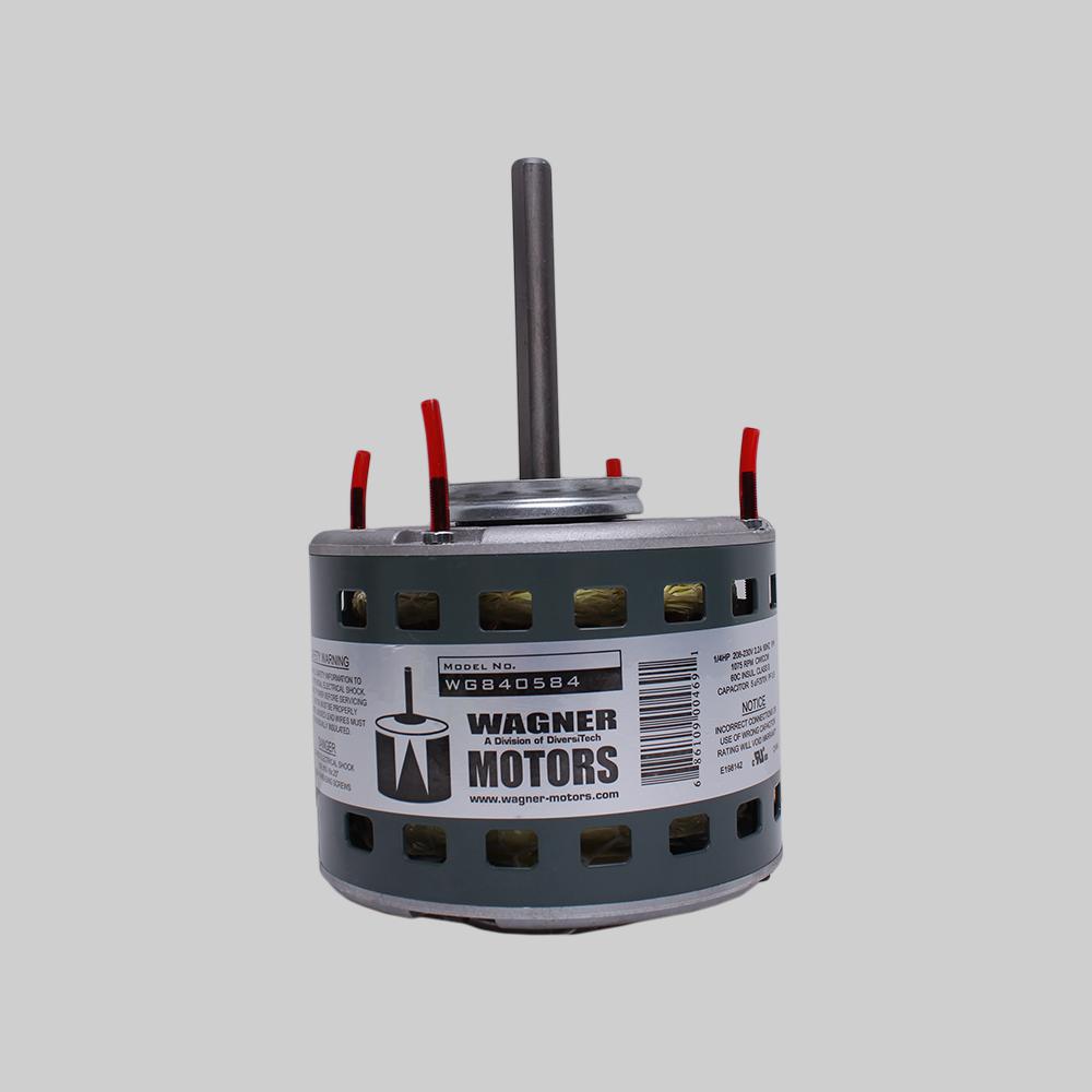 Direct Drive Furnace Blower Motor, 1/4hp, 1075/3 RPM, 2.2FLA, 208-230V