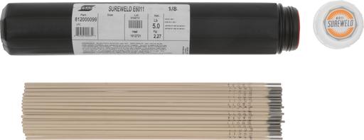 "ESAB® Sureweld 6011 1/8"" X14"" Stick Electrodes, 5# VALPAK"