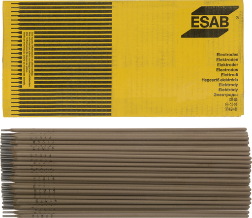 "ESAB® Sureweld 7014 1/8"" X 14"" Stick Electrodes, 50# Carton"