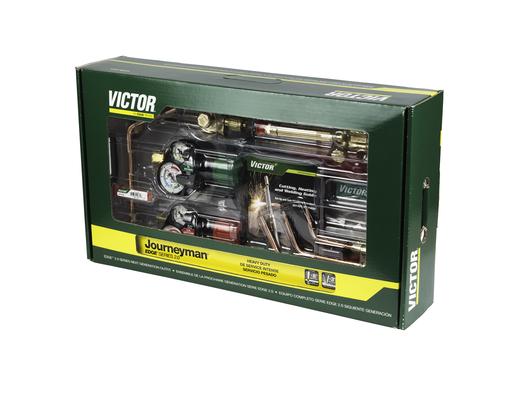Victor®Journeyman® EDGE™ 2.0 Heavy Duty Acetylene Cutting/Heating/Welding Outfit CGA-300