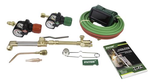 Victor®Journeyman® II EDGE™ 2.0 Heavy Duty Acetylene Cutting/Heating/Welding Outfit CGA-510