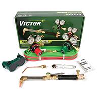 Victor®Model G350 Medalist® Medium - Heavy Duty Acetylene Cutting/Welding Outfit CGA-540/CGA-300 With CA411-1